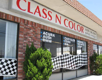 Class N Color Auto Collision - Auto Body Repair Los Angeles CA