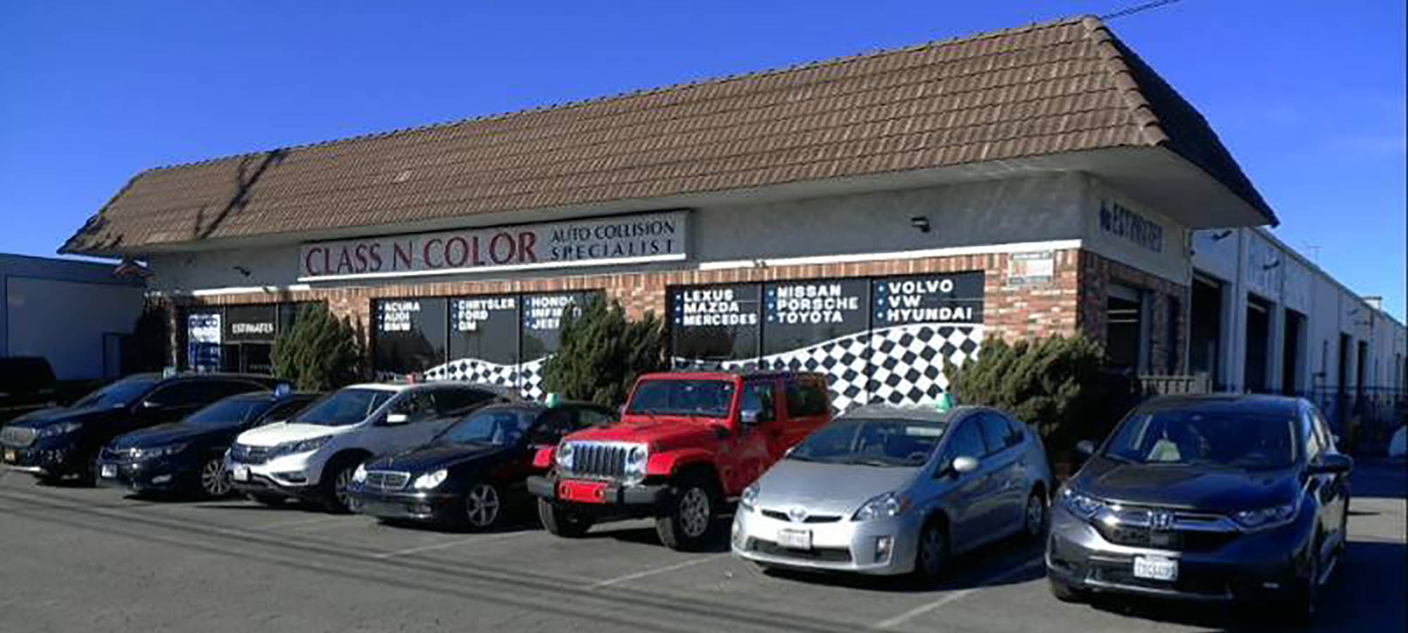 Class N Color Auto Collision - Auto Body Specialists Los Angeles CA